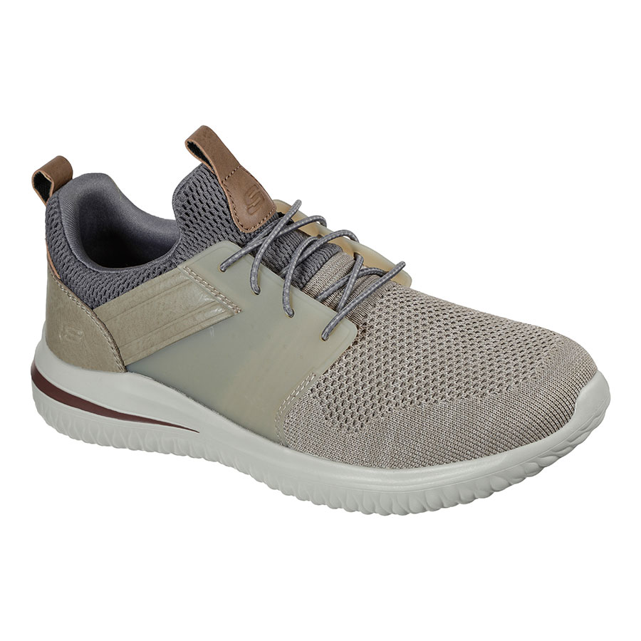 SKECHERS Calzado Zapatillas Taupe Knitted Mesh 210238-TPE