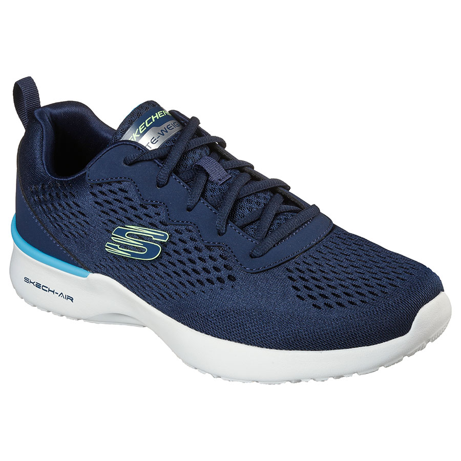 SKECHERS Calzado Zapatillas Navy-Lime Trim 232291-NVY