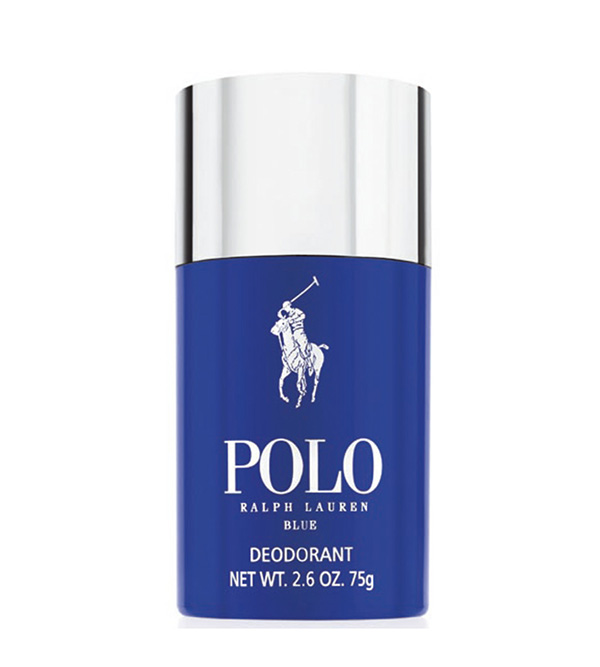POLO BLUE. RALPH LAUREN Deodorant for Men,  Stick 75ml