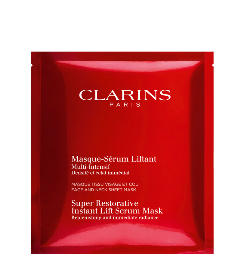 Multi-intensive. CLARINS Mascarilla-Serum En Tela Multi-Intensive