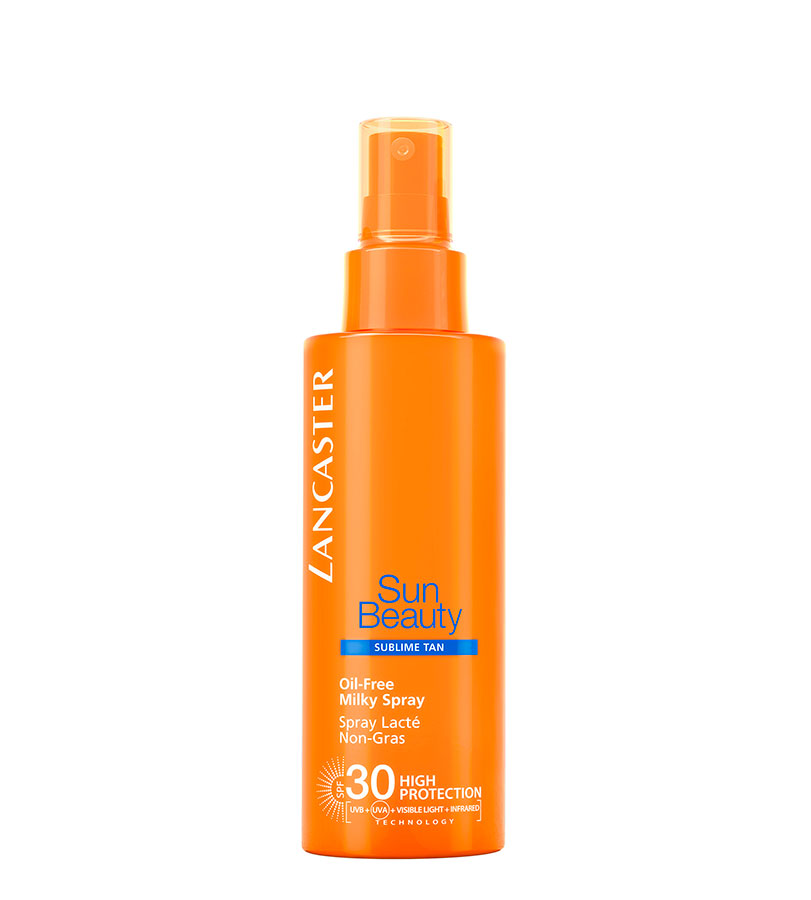 Oil-Free Milk Spray SPF30 150ml SUN BEAUTY FACE & BODY. LANCASTER