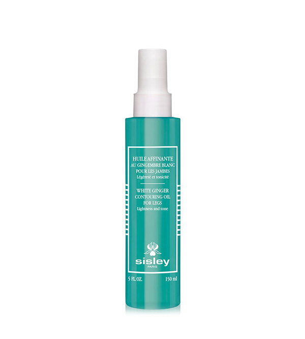 Corps. SISLEY Huile Affinante au Gingembre Blanc pour les Jambes 150ml