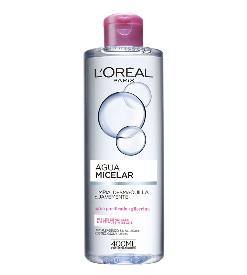 Dermo Expertise. L'OREAL Agua Micelar Dermo Expertise 400ml