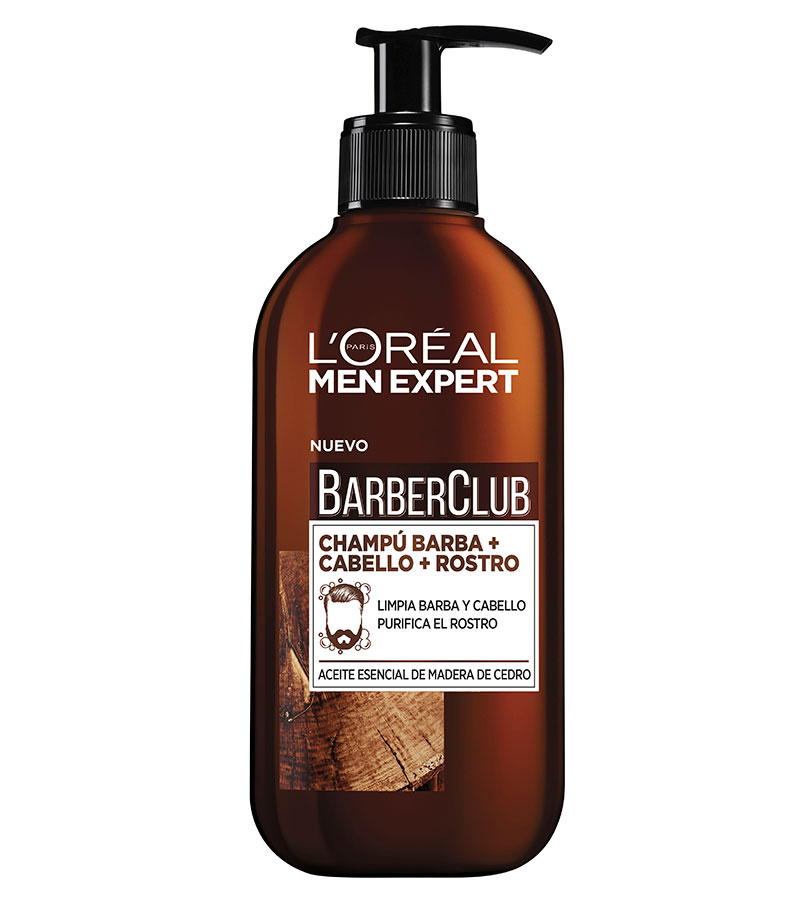 Barber Club. L'OREAL Champú 3 en 1 Barber Club 250ml