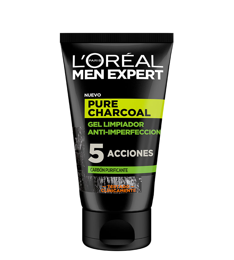 Men Expert. L'OREAL Gel Limpiador Anti-Imperfecciones 100ml