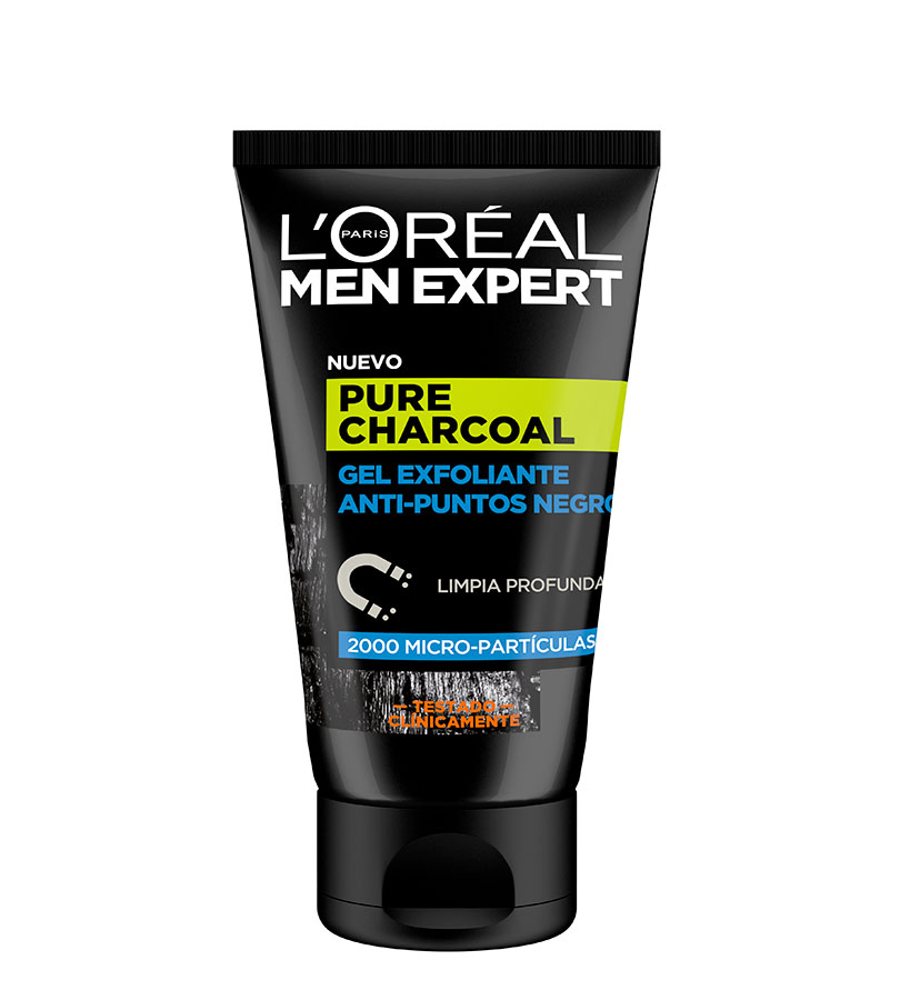 Men Expert. L'OREAL Gel Exfoliante Anti-Puntos Negros 100ml