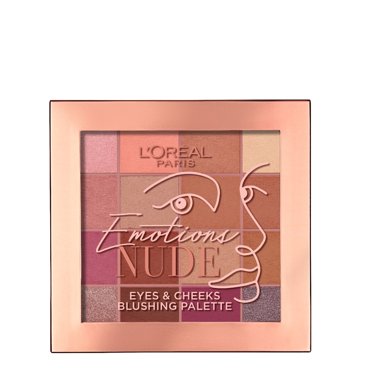 L'Oreal. Palete Emotions Nude