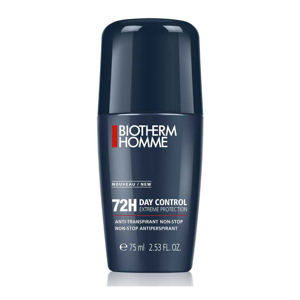 Day Control. BIOTHERM HOMME Day Control Extreme Protection 72h Deo Roll-on 75ml