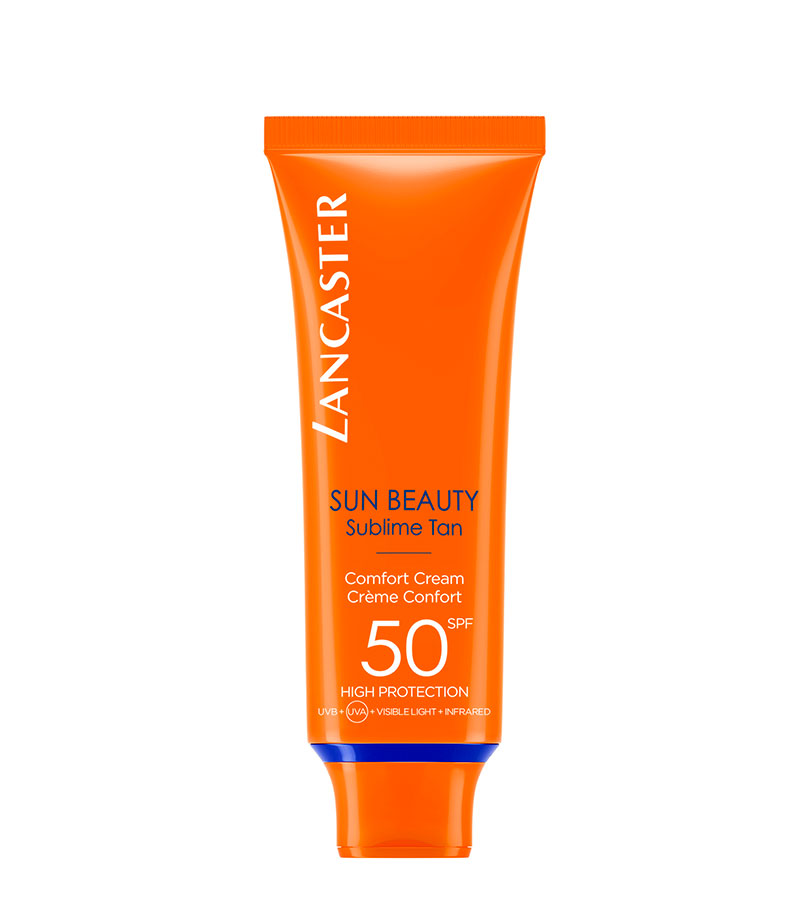 Crema Confort SPF50 50ml SUN BEAUTY. LANCASTER