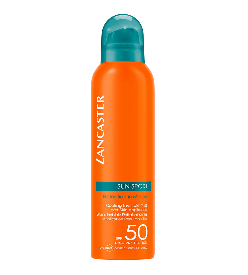 Sun Sport. LANCASTER Cooling Invisible Mist SPF50 200ml