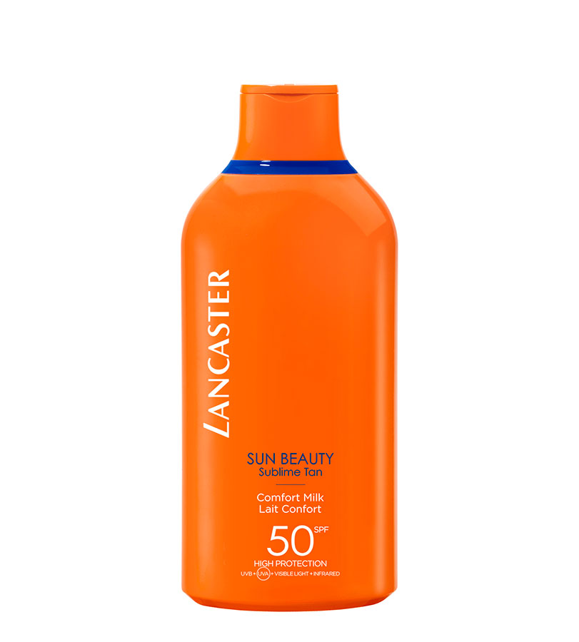 Sun Beauty. LANCASTER Comfort Milk SPF50 JUMBO 400ml