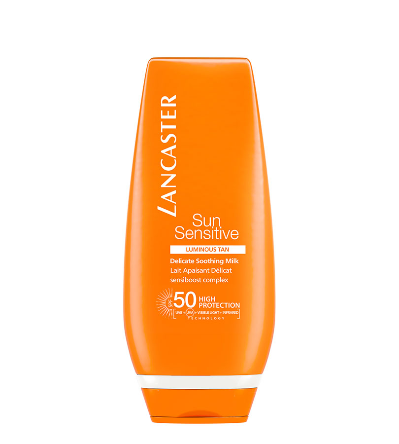 Sun Sensitive. LANCASTER Delicate Comforting Cream SPF50+ 125ml