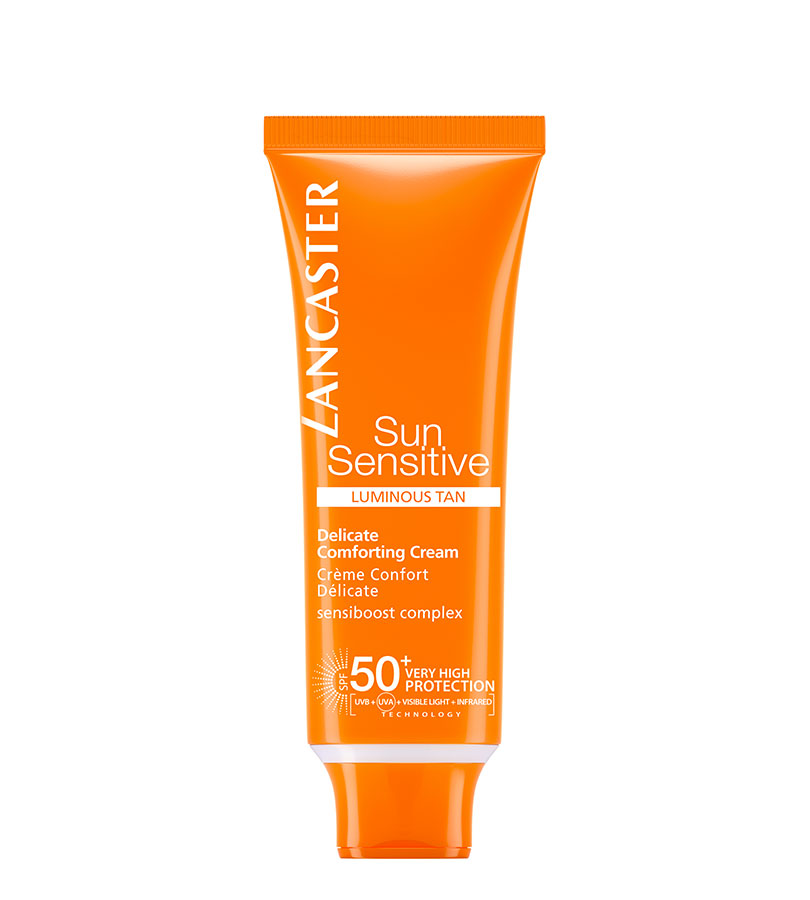 Sun Sensitive. LANCASTER Delicate Comforting Cream SPF50+ 50ml