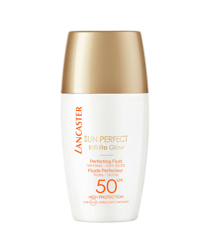 Sun Perfect. LANCASTER Perfecting Fluid SPF50 High Protection 30ml