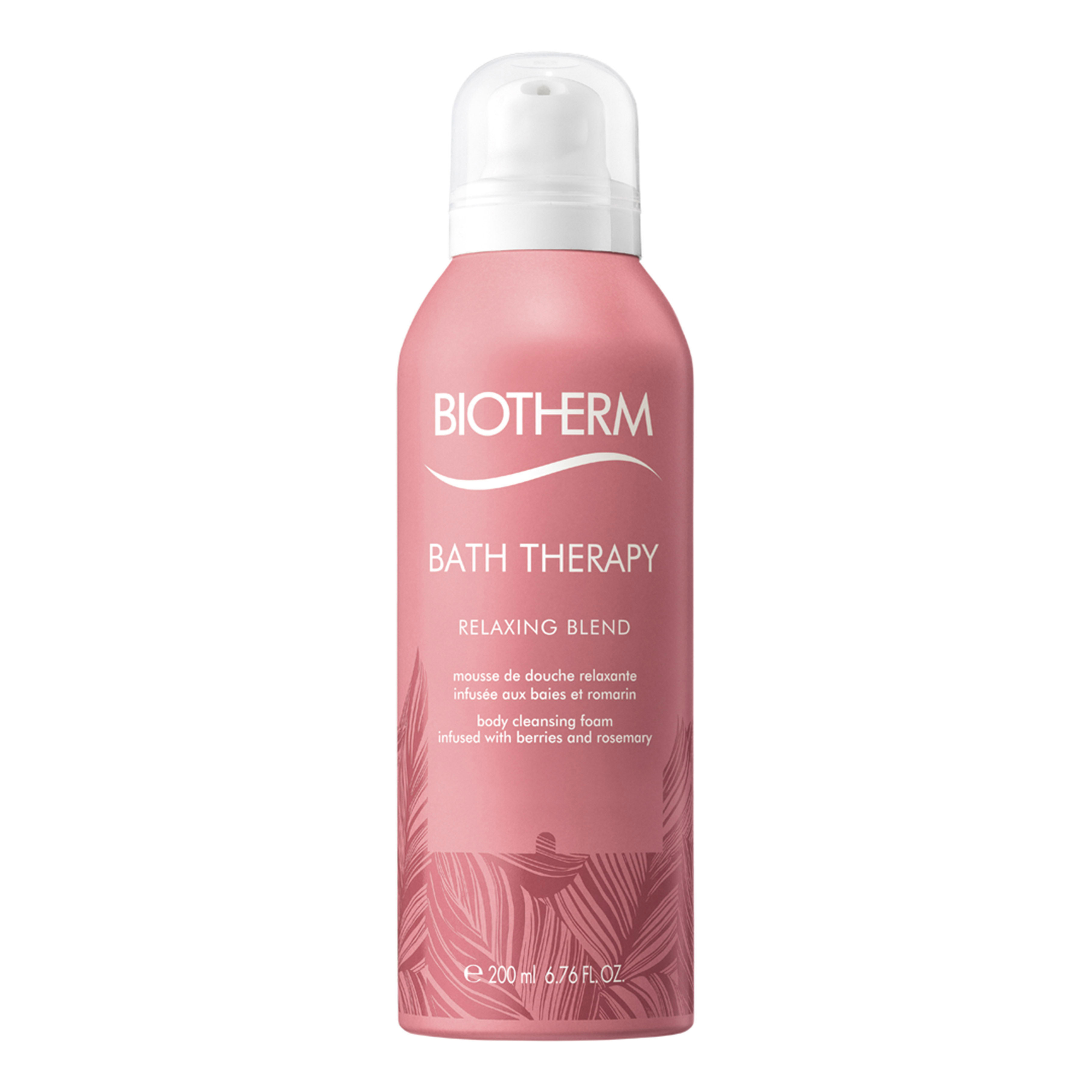 Bath Therapy. BIOTHERM Bath Therapy Relaxing Blend Cleasing Foam 200ml