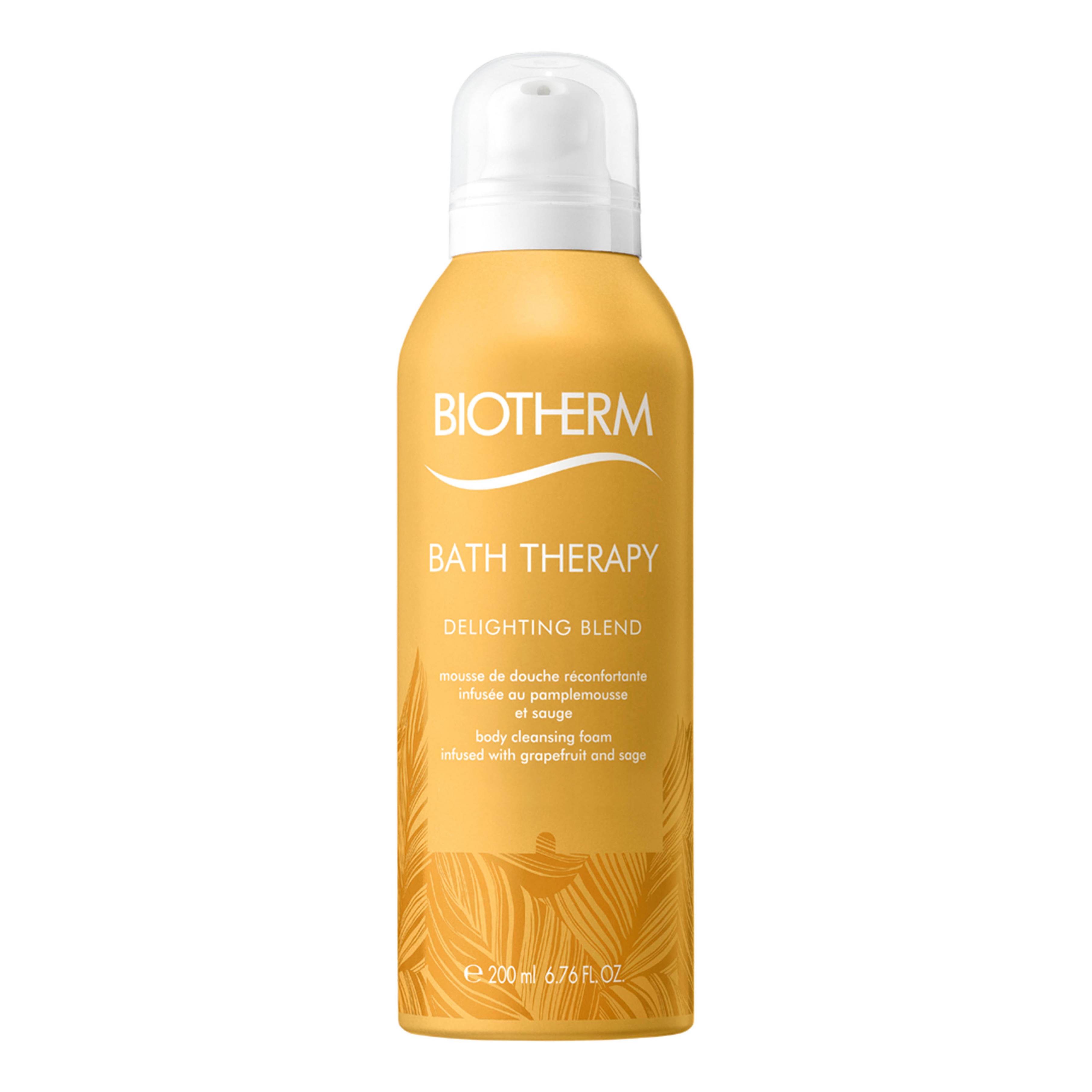 Bath Therapy. BIOTHERM Bath Therapy Delighting Blend Cleasing Foam 200ml