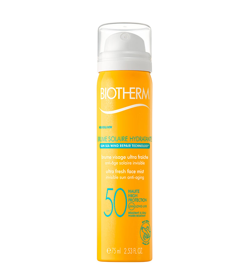 Brume Solaire. BIOTHERM Brume Solaire Hydratante SPF50 75ml