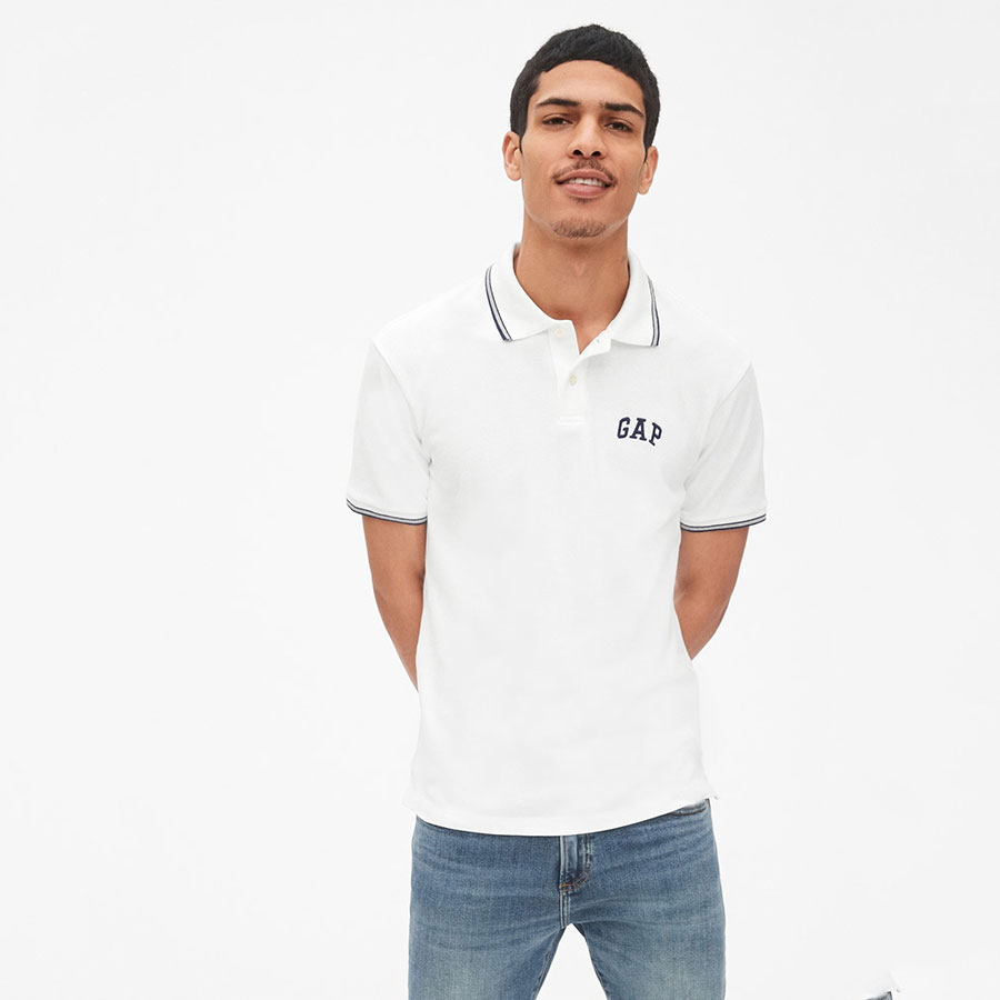 GAP Textil Polo White V2 Global 440725-000