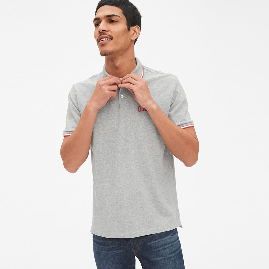 GAP Textil Polo B10 Grey Heather 440725-010