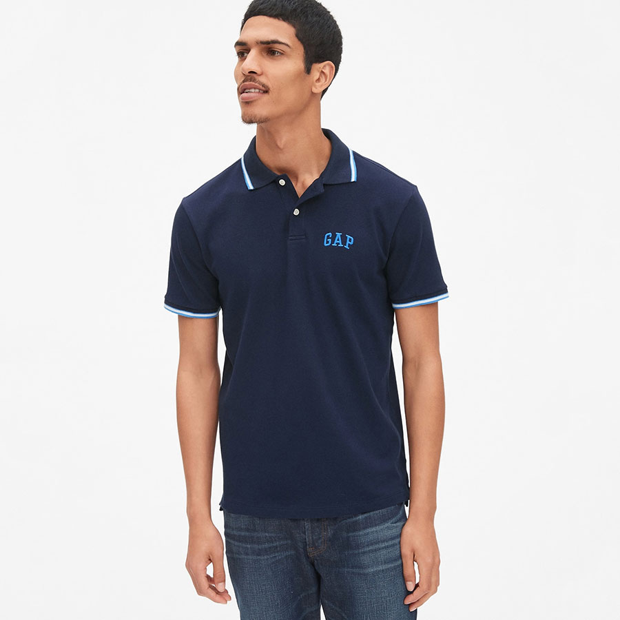 GAP Textil Polo Tapestry Navy 440725-105