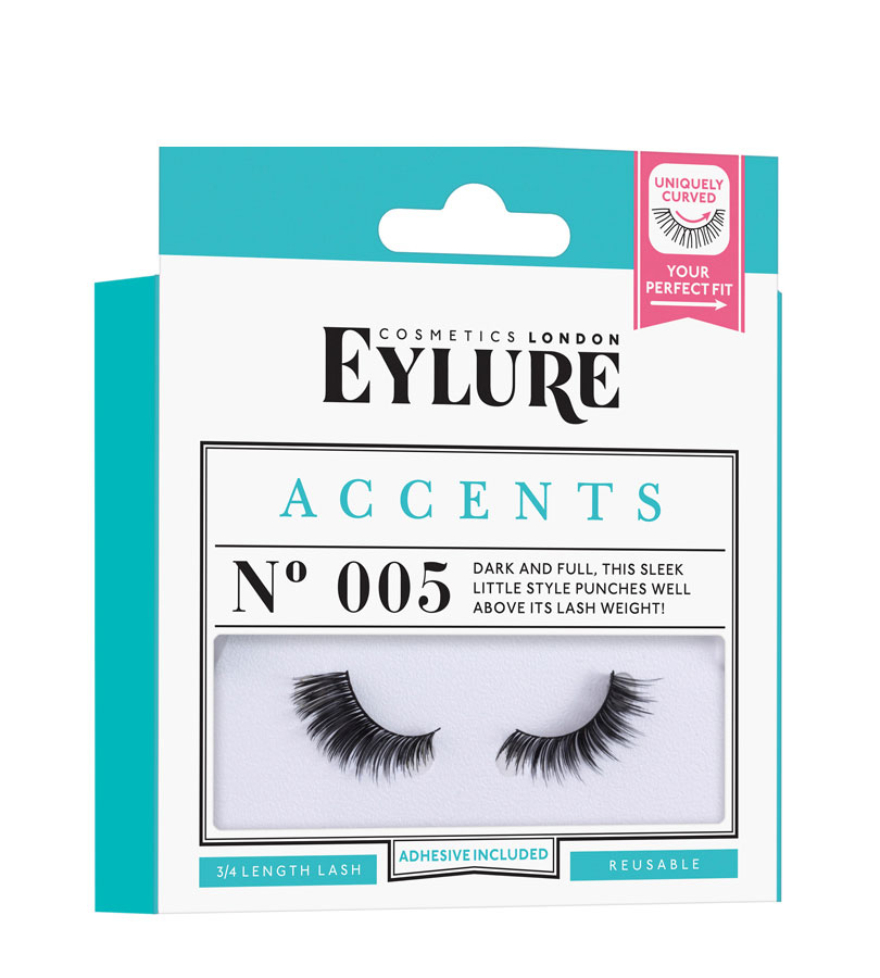 Accents Nº005, Pestaña 3/4 Accents Lashes Nº005 EYLURE