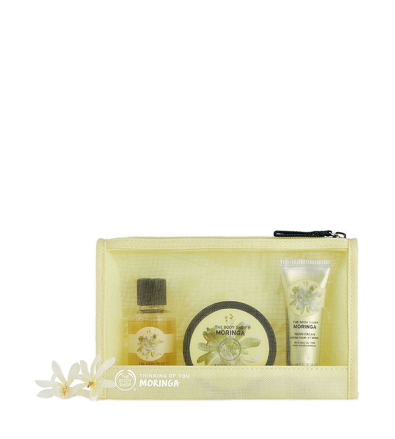 Moringa. THE BODY SHOP Set Bag Moringa Ar19 A0X 0