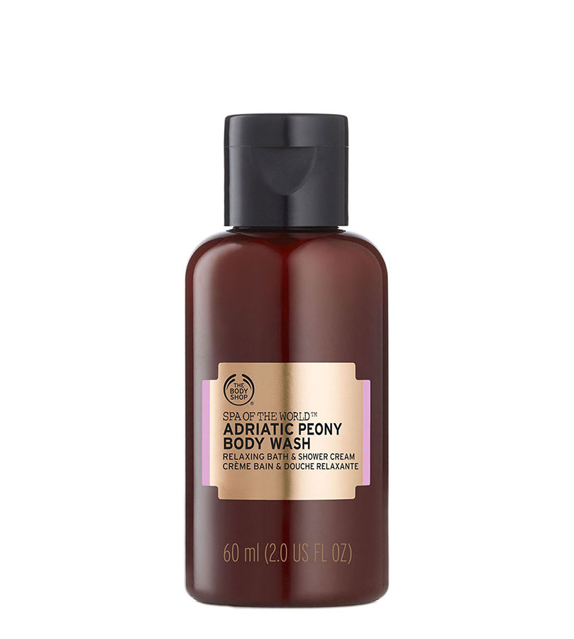Spa Of The World. THE BODY SHOP Body Wash Adriatic Peony A0X 60ml