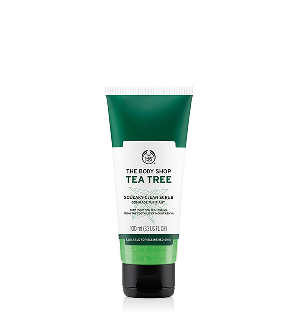 Árbol de Té. THE BODY SHOP Exfoliante Facial de Árbol de Té 100ml