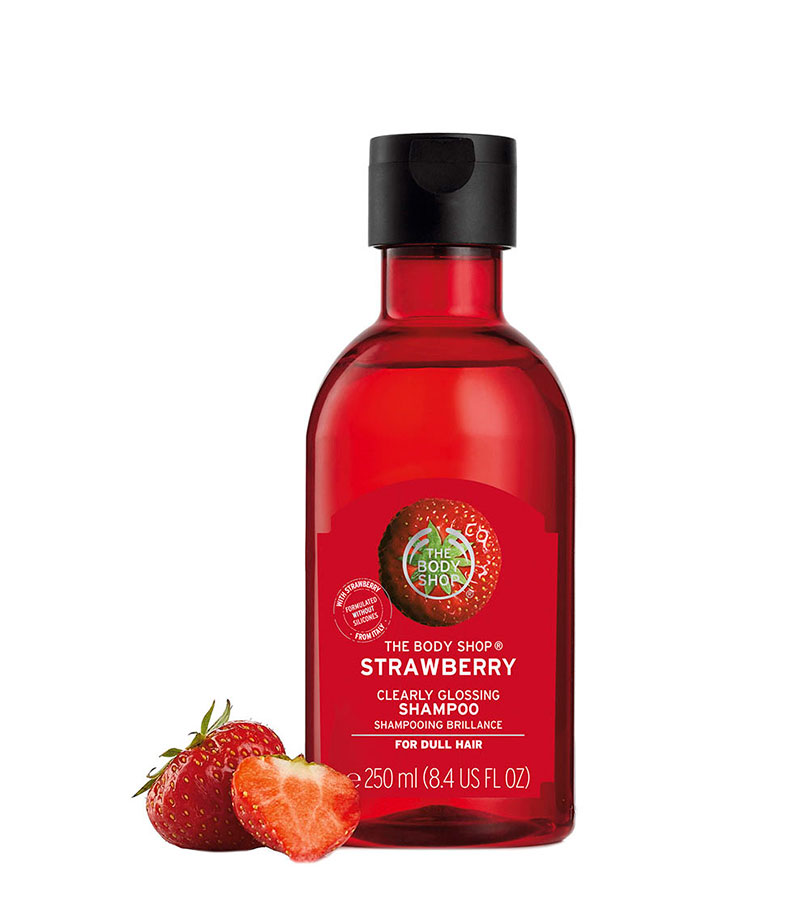 Fresa. THE BODY SHOP Shampoo Strawberry A0X 250ml