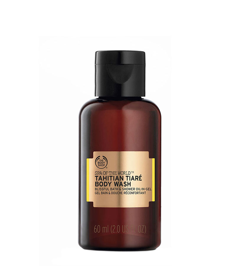 Spa Of The World. THE BODY SHOP Body Wash Tahitian Tiare A0X 60ml