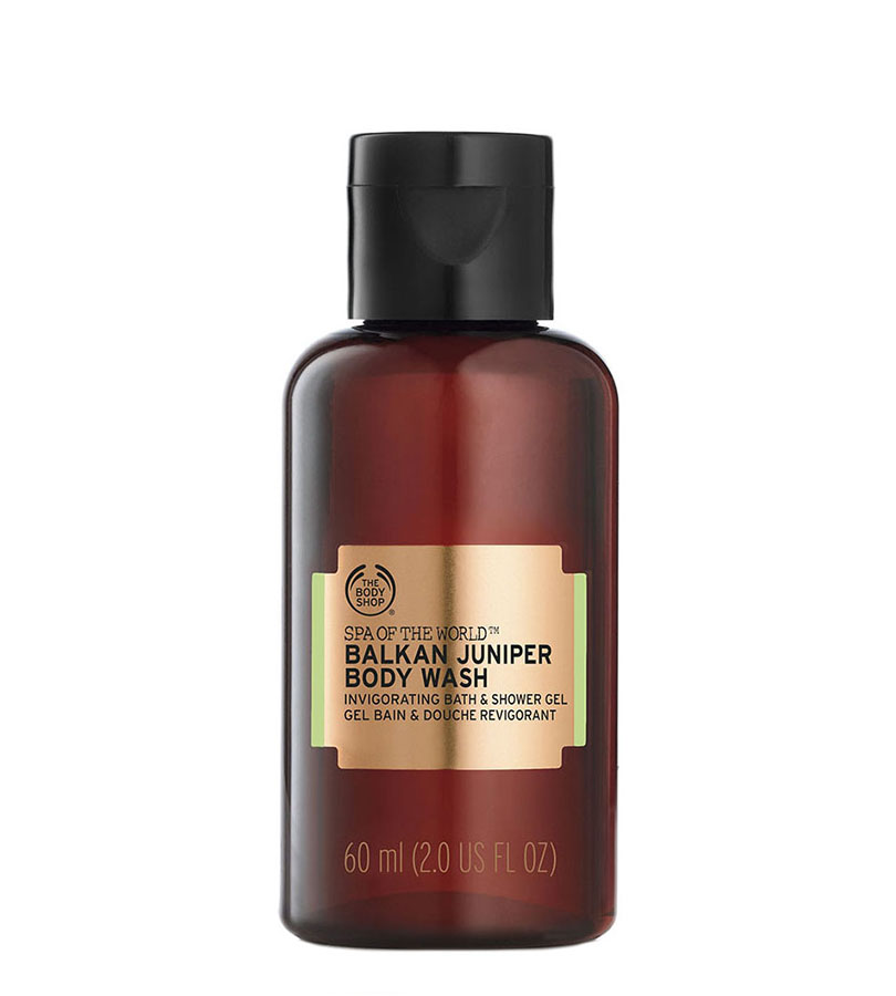 Spa Of The World. THE BODY SHOP Body Wash Balkan Juniper A0X 60ml