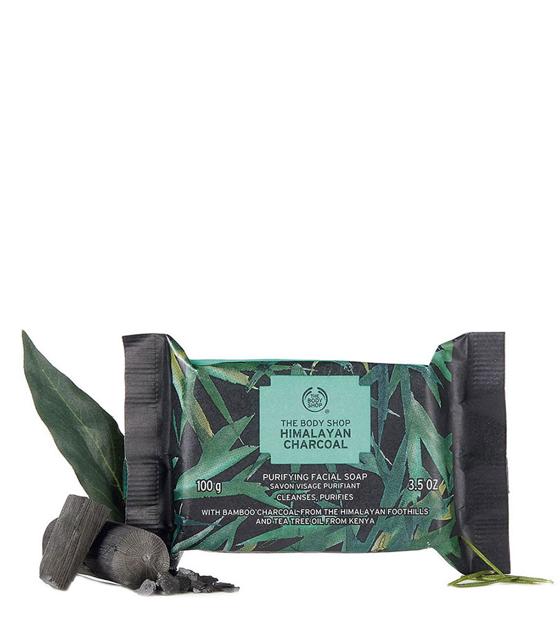 Recipes of Nature. THE BODY SHOP Face Soap Charcoal 100G A0X