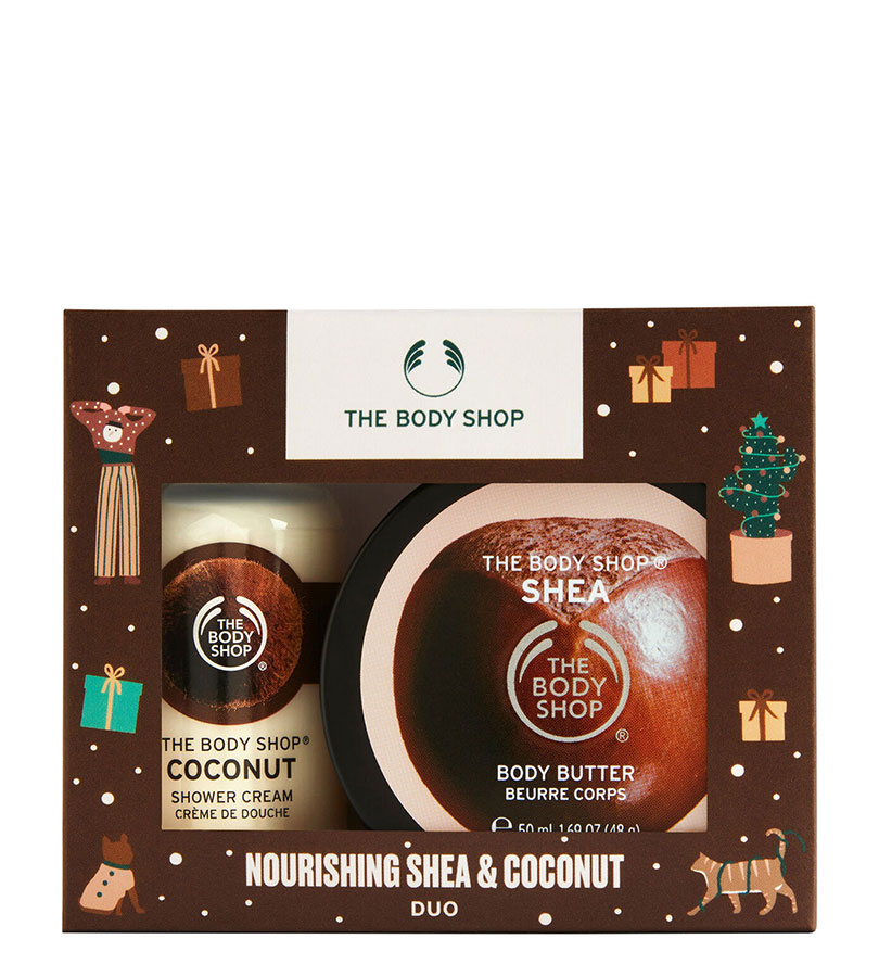 Regalos. THE BODY SHOP Nourishing Shea & Coconut Duo 0
