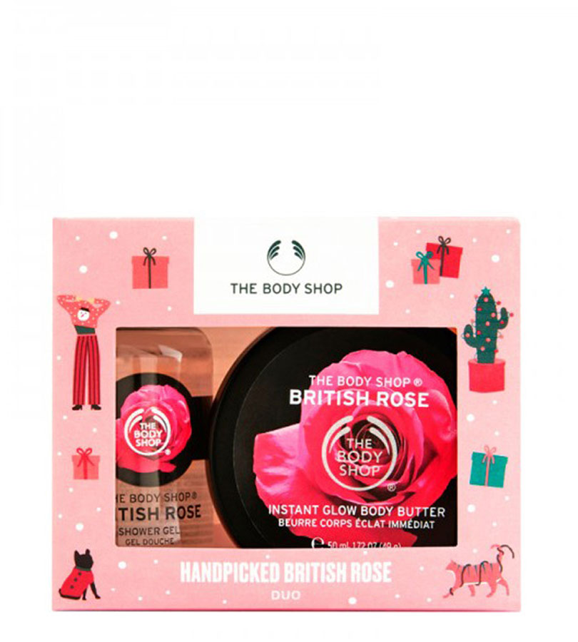 Regalos. THE BODY SHOP Dúo British Rose Recolectada a Mano 0