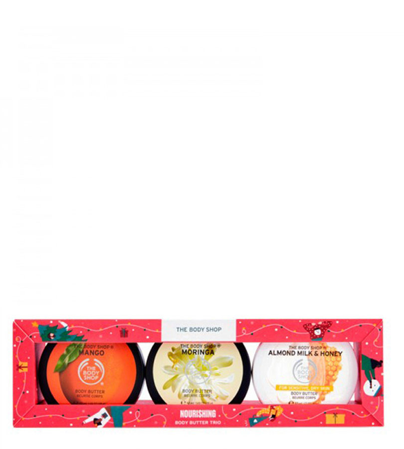 Regalos. THE BODY SHOP Nourishing Body Butter Trio 0