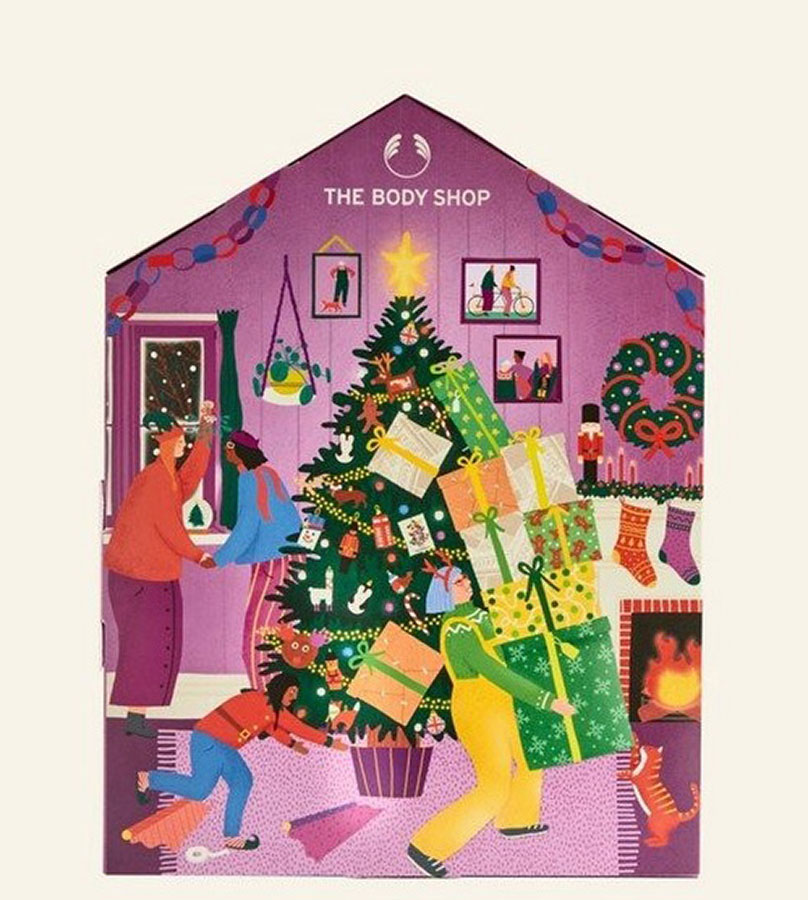 Regalos. THE BODY SHOP The body shop Calendario de Adviento 0