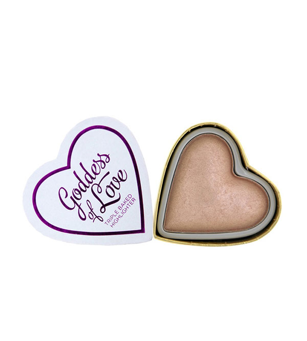 Hearts Highlighter Goddess Of Love Blushing Hearts I HEART MAKEUP