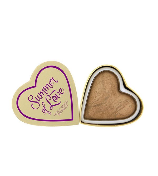 Hearts Bronzer Summer Of Love Hearts Bronzer I HEART MAKEUP
