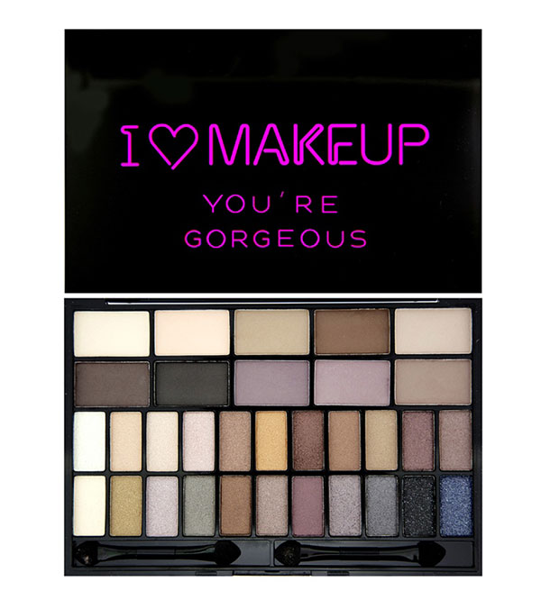 Theme Palette You Are Gorgeous Theme Palette I HEART MAKEUP