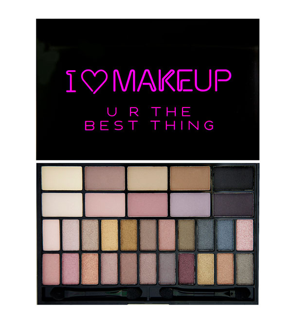 Theme Palette U R The Best Thing Theme Palette I HEART MAKEUP