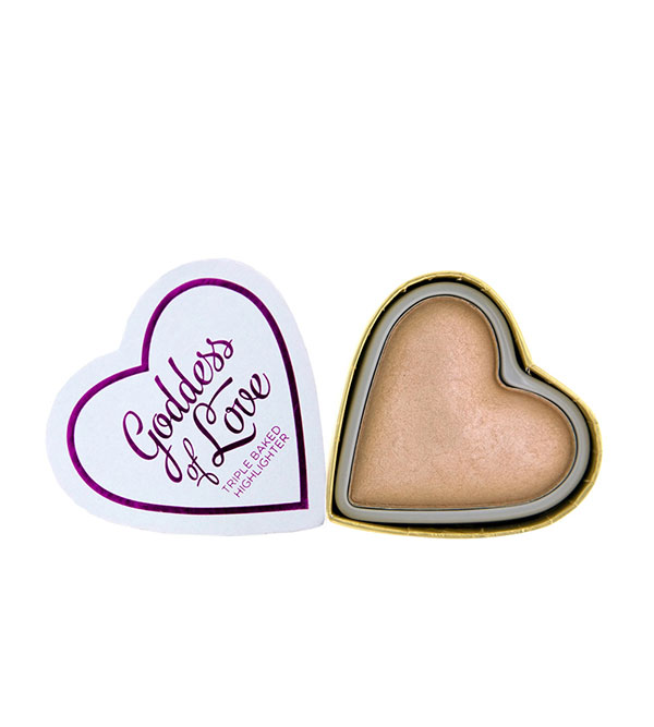 Blushing Hearts Highlighter Goddess Of F Blushing Hearts I HEART MAKEUP