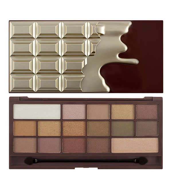 I Heart Makeup Golden Bar Chocolate Palette I HEART MAKEUP