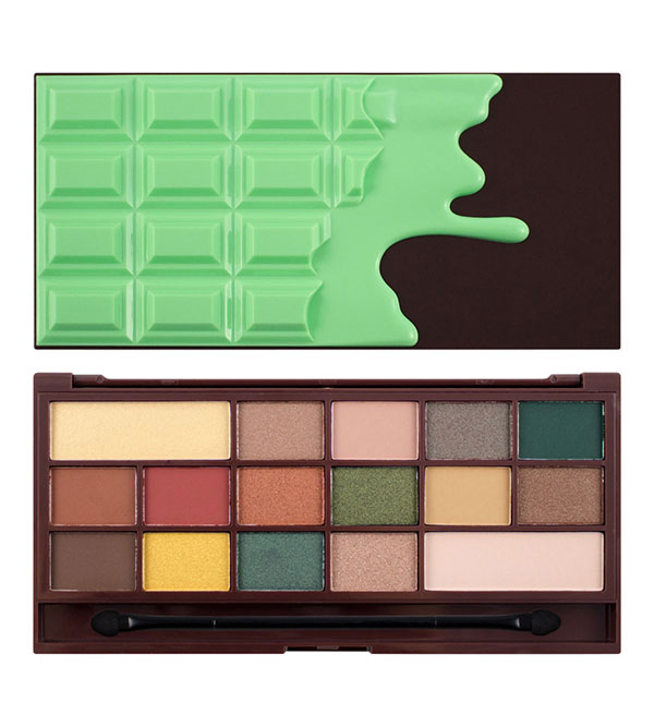 I Heart Makeup I Heart Mint Chocolate V4 Chocolate Palette I HEART MAKEUP