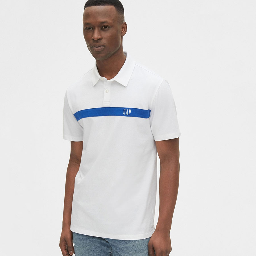 GAP Textil Polo Fresh White 539092-300