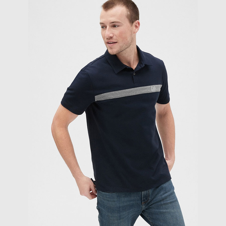 GAP Textil Polo New Classic Navy 539092-463