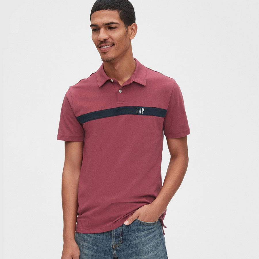 GAP Textil Polo Indian Red 539092-867