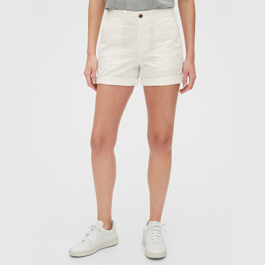 GAP Textil Shorts Snowflake Milk 543274-258