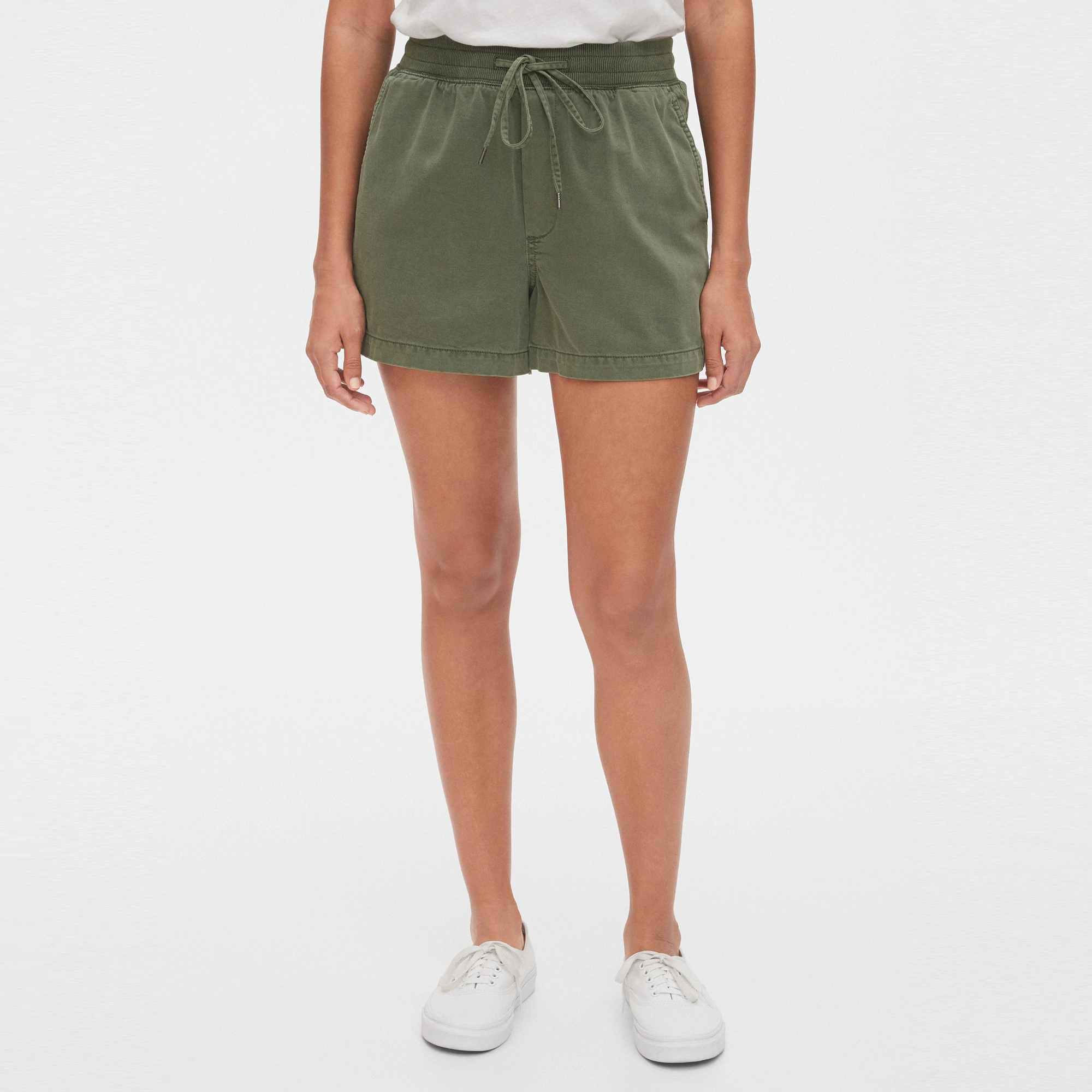 GAP Textil Shorts Pull On Shorts - Douglas Fir 543310-043