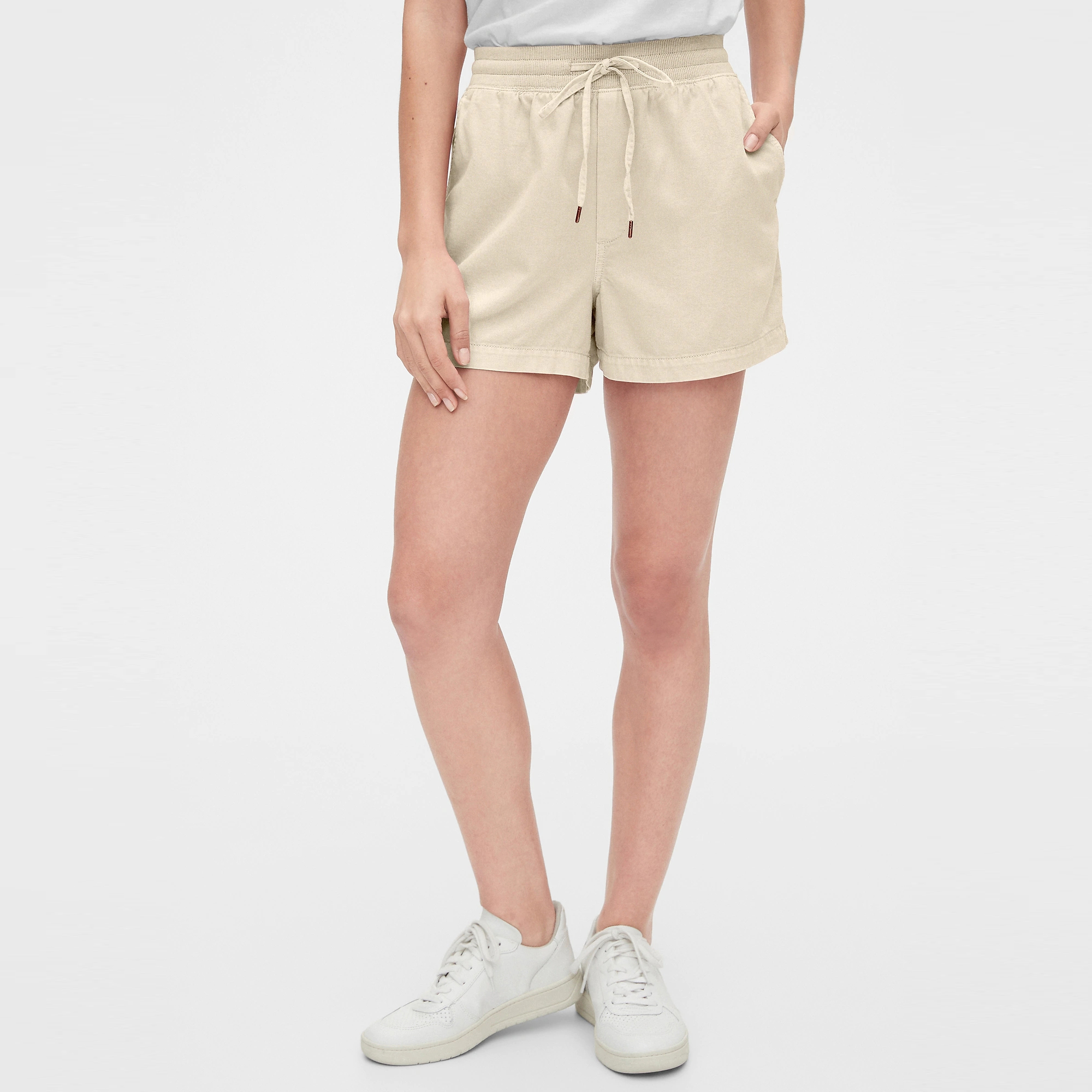 GAP Textil Shorts Pull On Shorts - Stone 543310-682