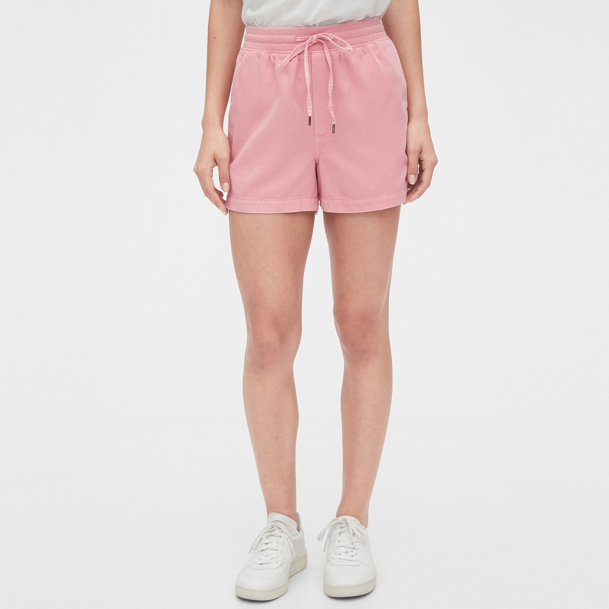 GAP Textil Shorts Pull On Shorts - Freesia Pink 543310-785